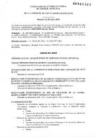 1. CR et PV du 25 mars 2021