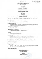 1. Ordre du jour du 17 février 2020