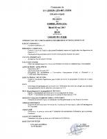 4. Ordre du jour du 16 mai 2017