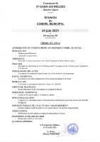 4. Ordre du jour du 24 juin 2021
