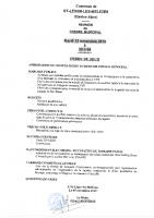 6. Ordre du jour du 12 novembre 2019