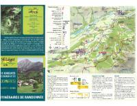 Carte Randonnées St-Léger-les-Mélèzes