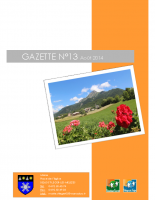 Gazette n°13 août 2014