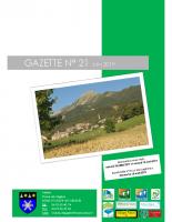 Gazette n°21 Juin 2019