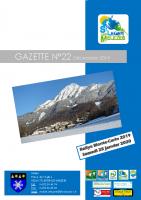 Gazette n°22 décembre 2019