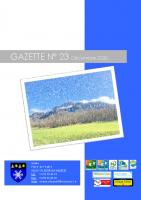 Gazette n°23 décembre 2020