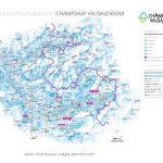 Plan - Champsaur Valgaudemar